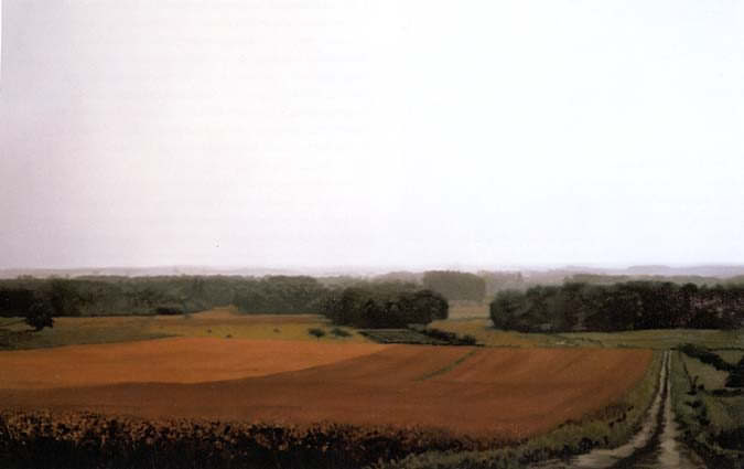 Art - Gerhard Richter, Chinon