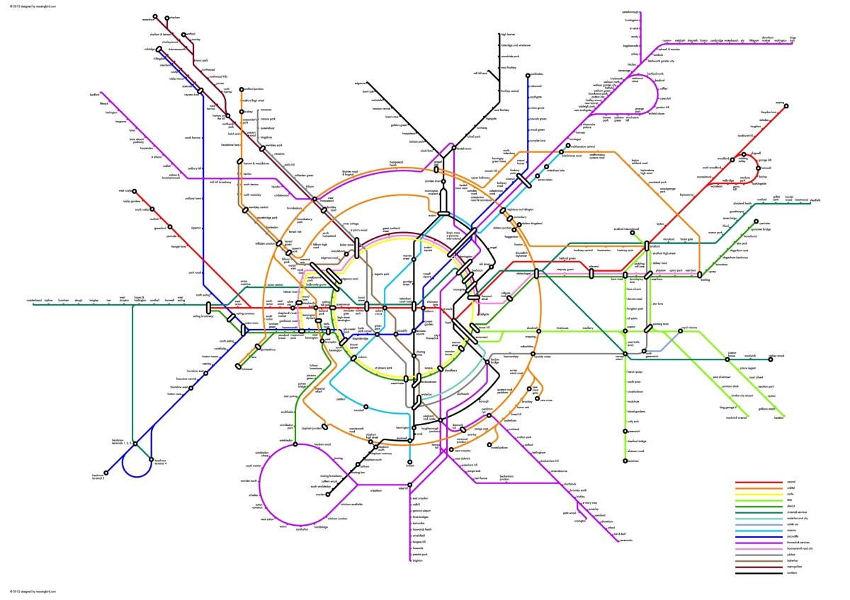 Tumblr - Circular tube_map
