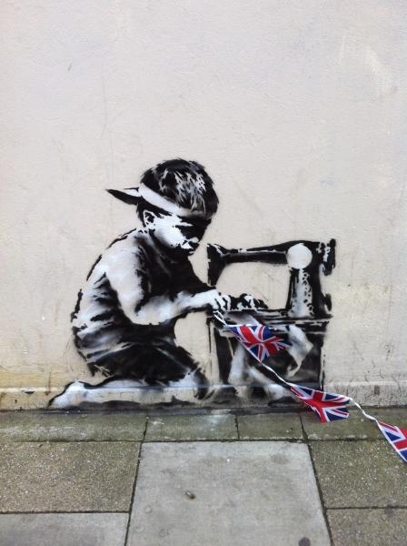 Tumblr - Banksy, Slave Labour