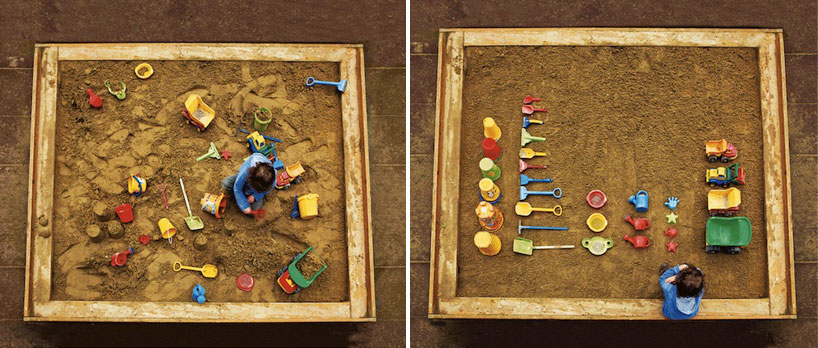 Tumblr - Sandpit, messy and tidy