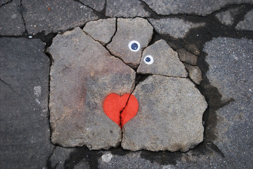 Tumblr - Street-Art-on-Valentines-Day