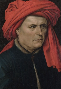 Art - Robert Campin, Man