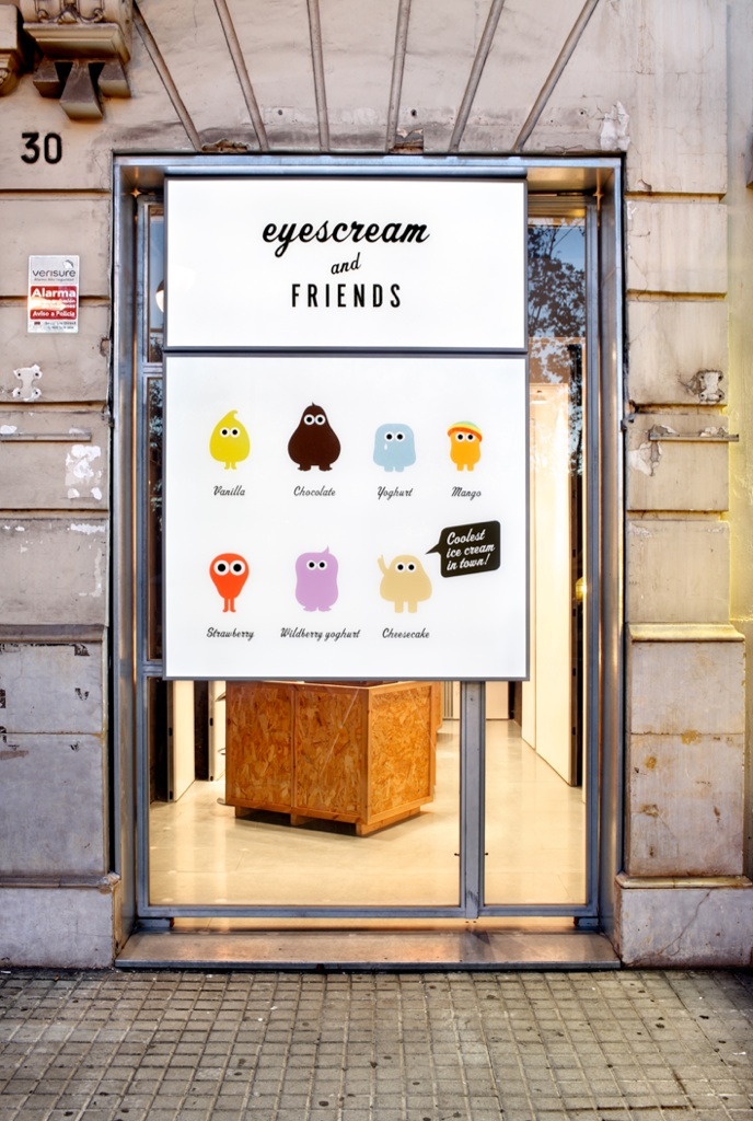Tumblr - Eyescream and friends, shop front