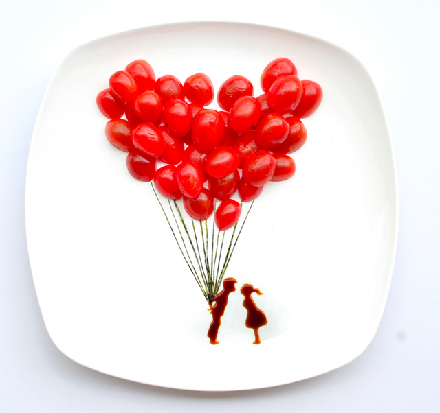 Tumblr - Food composition, Balloons