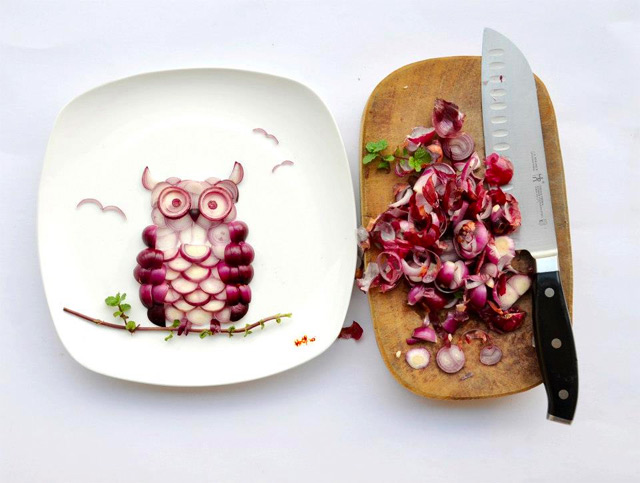 Tumblr - Food composition, Owl