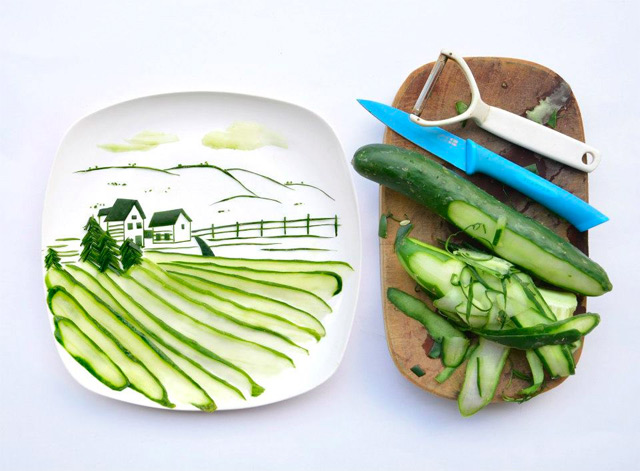 Tumblr - Food composition, Zucchini
