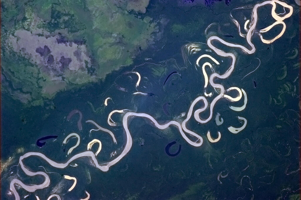 Tumblr - River from space
