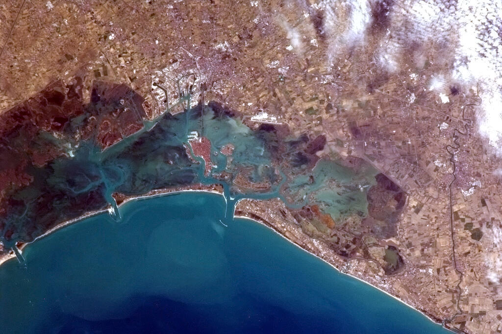 Tumblr - Venice from space