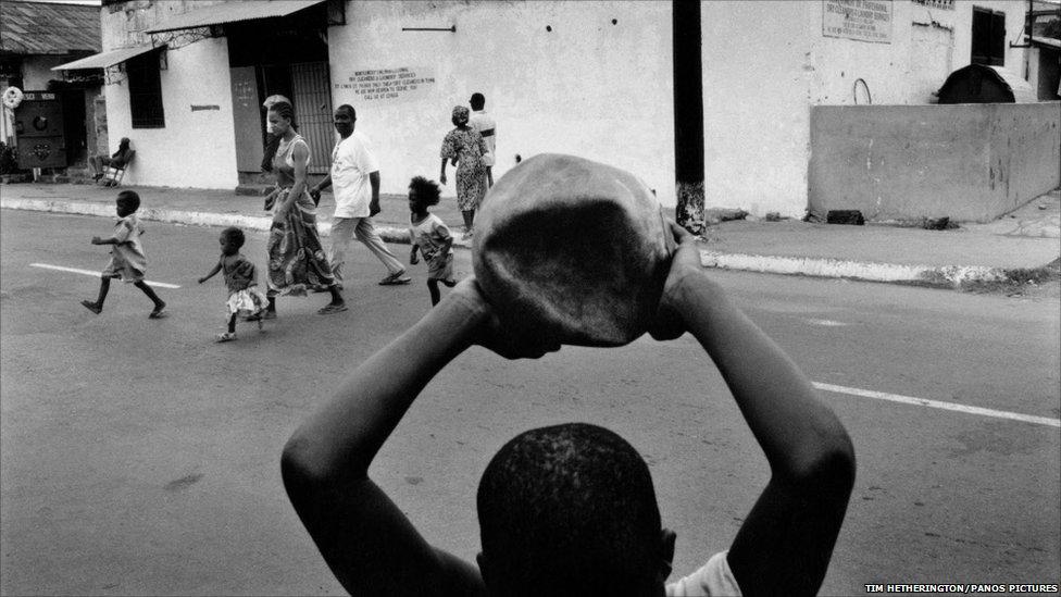 Photography - Hetherington, football