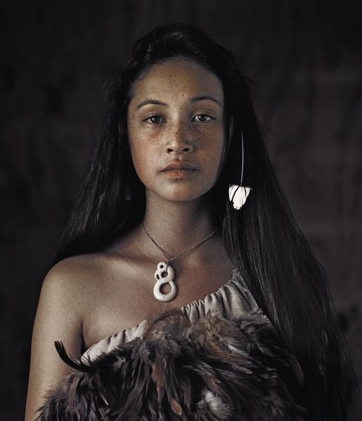 Photography - Jimmy Nelson, feather dress