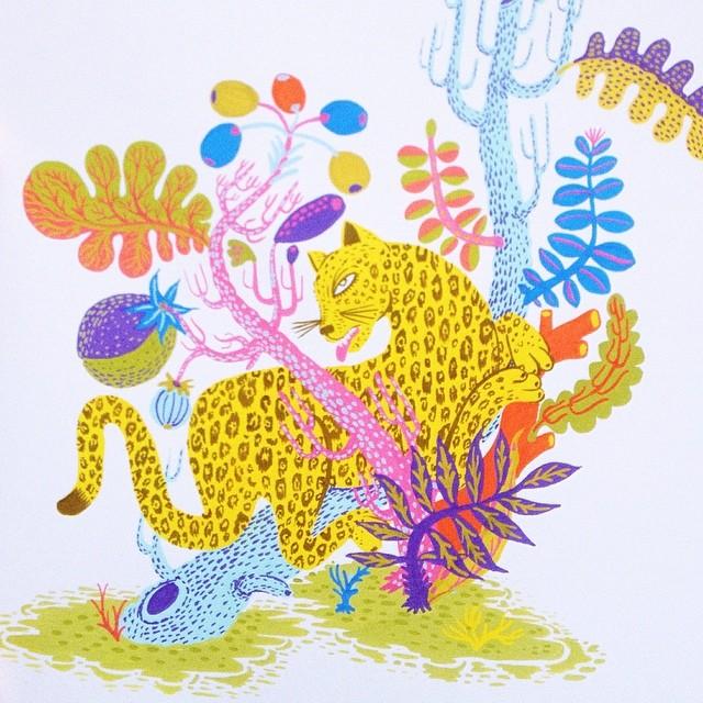 Tumblr - Drawing, Leopard