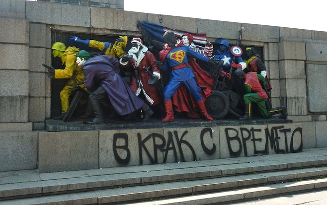 Tumblr - Bulgaria-soviet-monument-painted