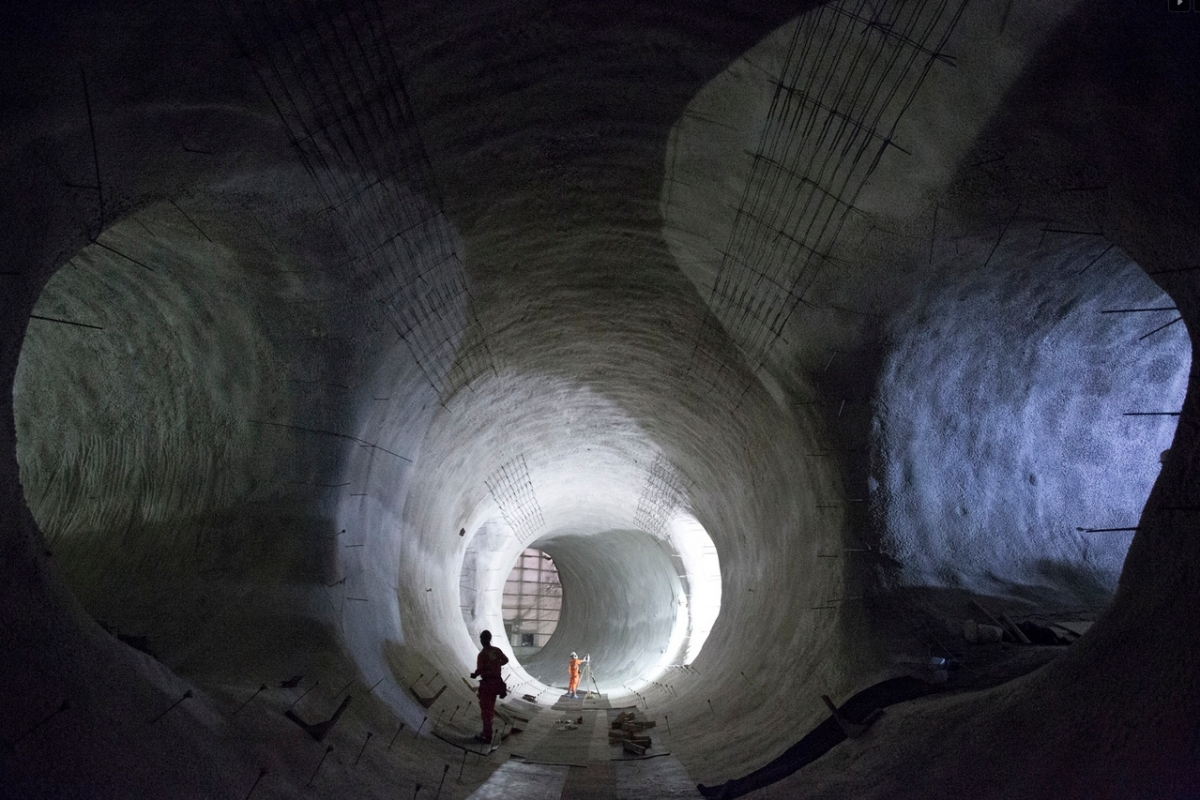 Tumblr - Crossrail tunnels