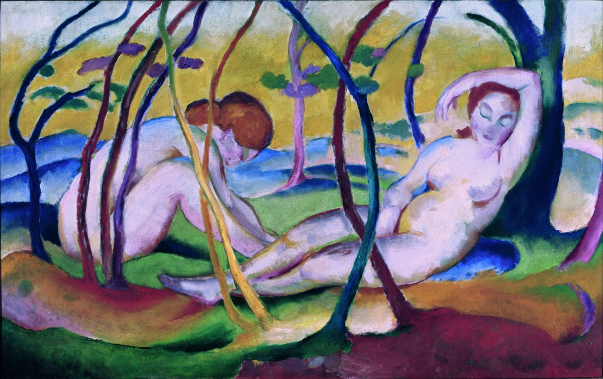 Tumblr - Franz_Marc_-_Nudes_under_Trees_-_Google_Art_Project